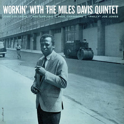Miles Davis (마일즈 데이비스) - Workin' With The Miles Davis Qunintet [블루 컬러 LP]