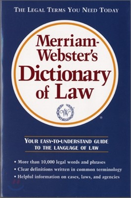 Merriam-Webster Dictionary of Law