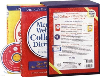 Merriam-Webster's Collegiate Reference Set with CDROM
