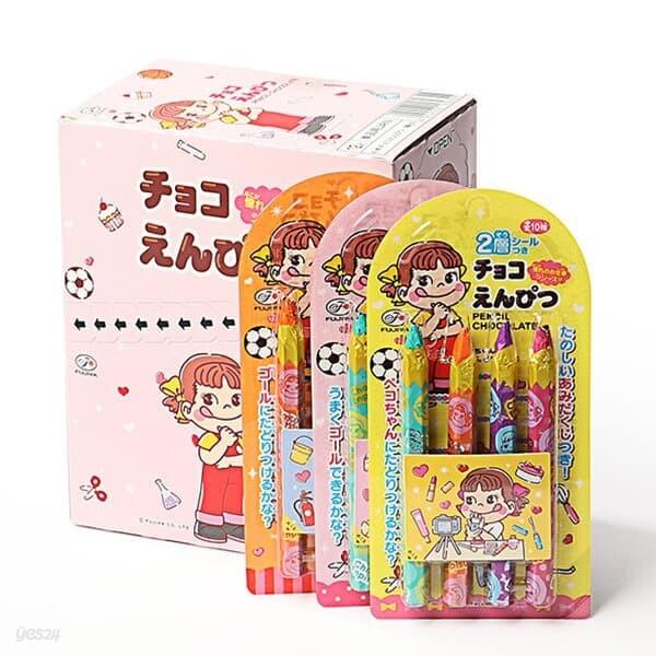 후지야 연필 초콜릿 박스 27g x 12개