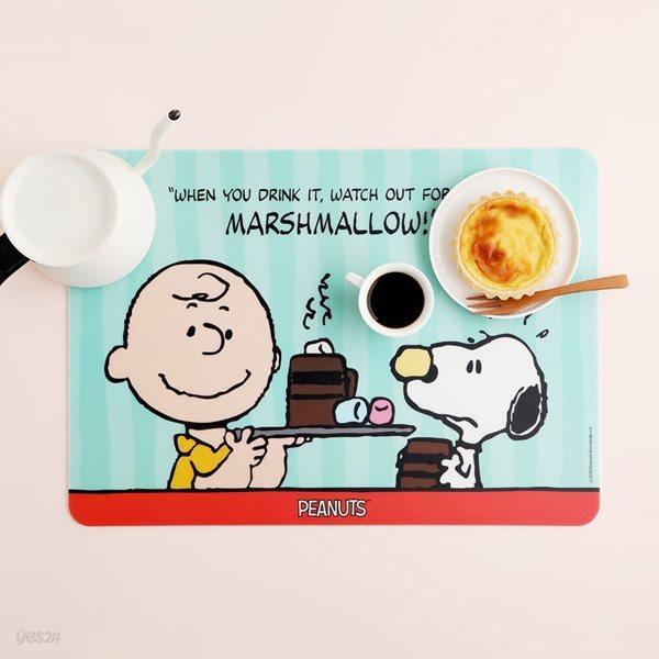 피너츠 스누피 마시멜로 테이블 매트 1P