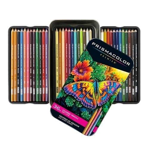 [프리즈마] 유성색연필 36색 세트