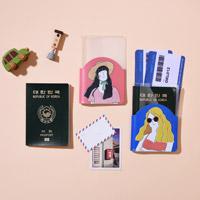 투명 여권케이스