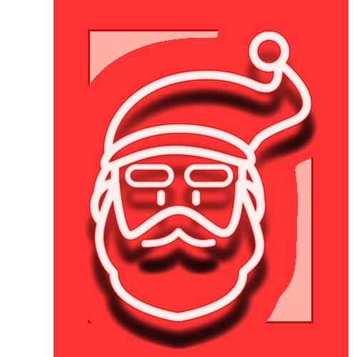 산타 이미지