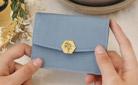 [디랩] 행운을 부르는 탄생화 지갑