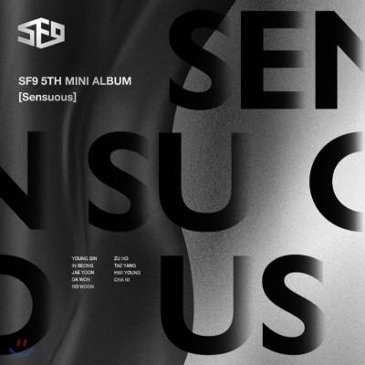에스에프나인 (SF9) - 미니앨범 5집  Sensuous.jpg