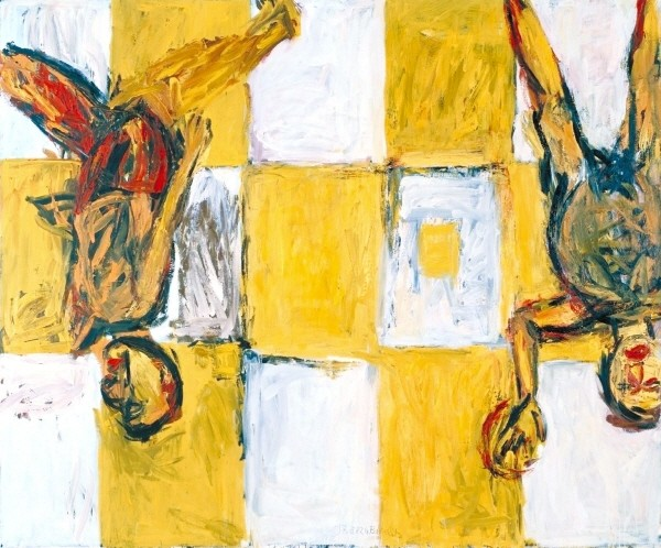 Georg Baselitz, 'Adieu' 1982.jpg