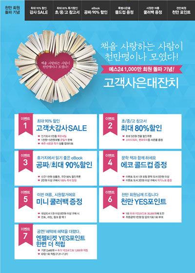 예스24_천만-회원-돌파-기념