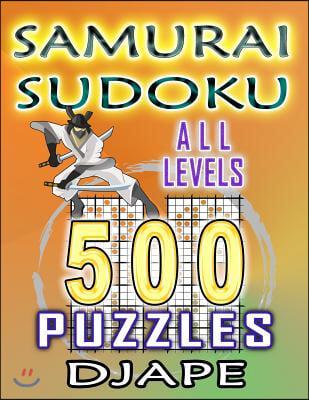 Samurai Sudoku: 500 puzzles all levels
