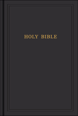 KJV Pew Bible, Black Hardcover