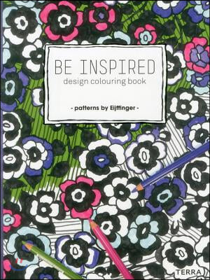 Be Inspired: Design Colouring Book - Patterns by Eijffinger