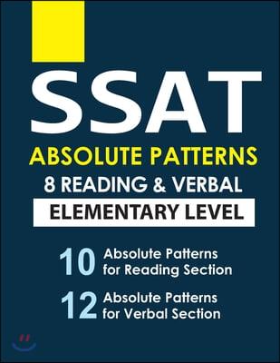 SSAT 8 Reading & Verbal Elementary Level
