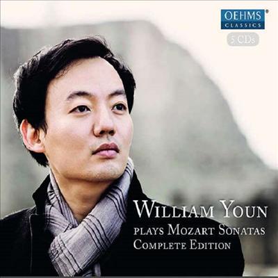 모차르트: 피아노 소나타 전집 (Mozart: Sonatas Complete Edition  ) (5CD) - 윤홍천 (William Youn)