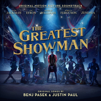 O.S.T. - Greatest Showman (위대한 쇼맨) (Soundtrack)(LP+Download Code)