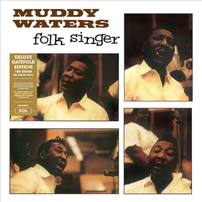 Muddy Waters - Folk Singer (Deluxe Edition)(Gatefold Cover)(180G)(LP)