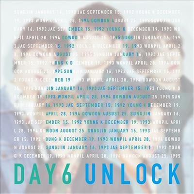 데이식스 (DAY6) - Unlock (CD+DVD) (초회한정반)