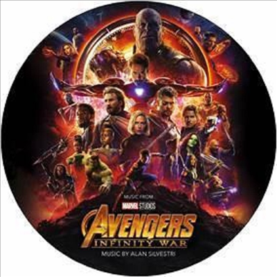 O.S.T. - Avengers: Infinity War (어벤져스: 인피니티 워)(By Alan Silvestri)(Picture LP)