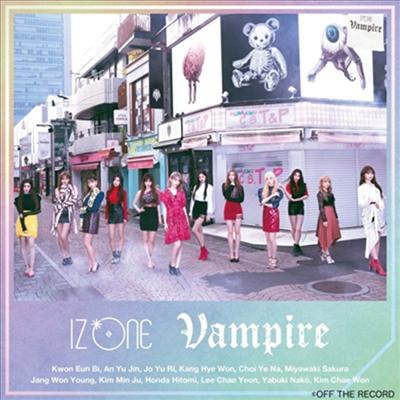 아이즈원 (IZ*ONE) - Vampire (CD+DVD) (Type B)