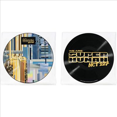 엔시티 127 (NCT 127) - NCT #127 We Are Superhuman (4th Mini Album) (Picture Disc Vinyl LP) (미국빌보드집계반영 LP)