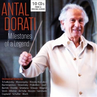 안탈 도라티 - 전설의 녹음 유산 (Antal Dorati - Milestones of a Legend) (10CD Boxset) - Antal Dorati