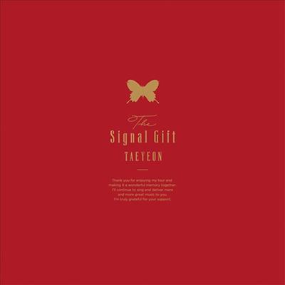 태연 (Taeyeon) - Signal Gift (Blu-ray+CD) (완전한정생산반)(Blu-ray)(2019)