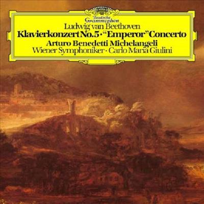 베토벤: 피아노 협주곡 5번 '황제' (Beethoven: Piano Concerto Nos.5 'Emperor') (180g)(LP) - Arturo Benedetti Michelangeli