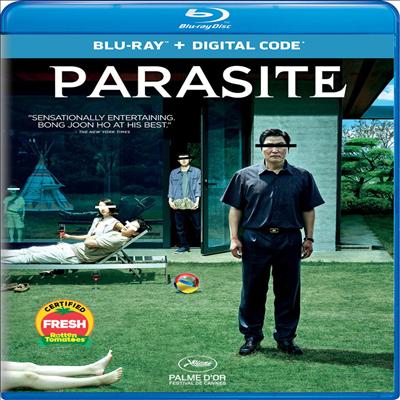 Parasite (기생충) (2020 골든글로브 영화상 수상작)(봉준호 감독 작품)(한글무자막)(Blu-ray)