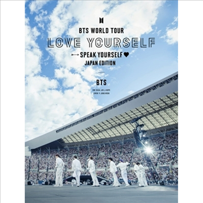 방탄소년단 (BTS) - World Tour 'Love Yourself: Speak Yourself' -Japan Edition- (2Blu-ray) (초회한정반)(Blu-ray)(2020)