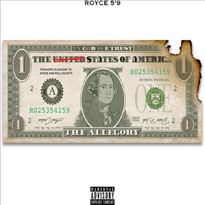 "Royce Da 5'9"" - Allegory (CD)"
