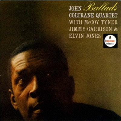 John Coltrane - Ballads (Ltd. Ed)(Hi-Res CD (MQA x UHQCD)(일본반)