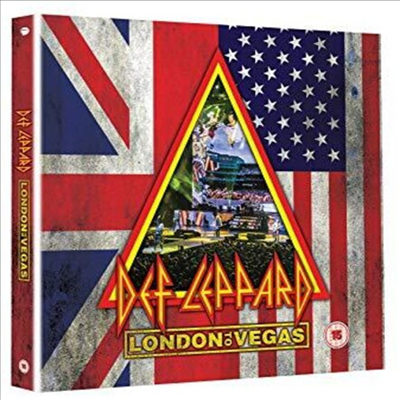 Def Leppard - London To Vegas (Ltd. Deluxe Edit)(2Blu-ray+4CD Boxset)(Blu-ray)(2020)