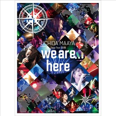 Uchida Maaya (우치다 마아야) - Zepp Tour 2019 「We Are Here」 (지역코드2)(DVD)