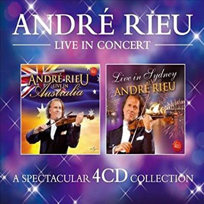 앙드레 류 - 크로스오버 콘서트 (Andre Rieu - Live In Concert) (4CD Boxset) - Andre Rieu