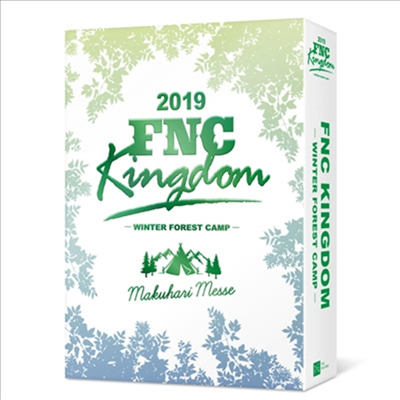 Various Artists - 2019 FNC Kingdom -Winter Forest Camp- (지역코드2)(3DVD)