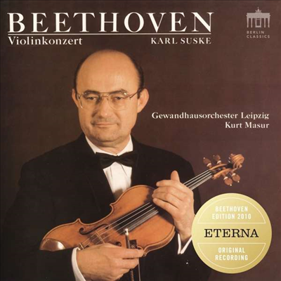 베토벤: 바이올린 협주곡 (Beethoven: Violin Concerto)(CD)(Digipack) - Karl Suske