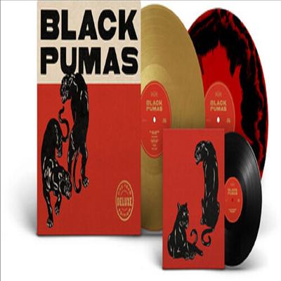 Black Pumas - Black Pumas (Deluxe Edition)(Colored 2LP+7 Inch Single LP)