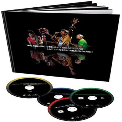 Rolling Stones - A Bigger Bang Live On Copacabana Beach (Deluxe Edition)(2CD+2DVD)