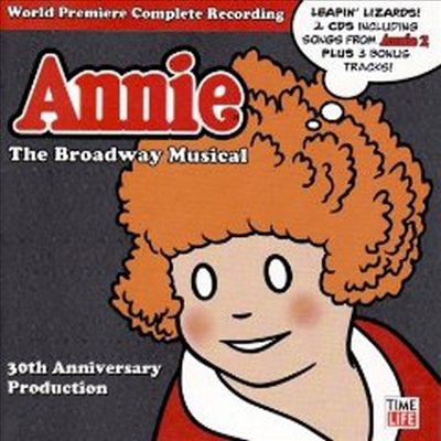 O.S.T. - Annie:The Broadway Musical 30th Anniversary Production (2CD)