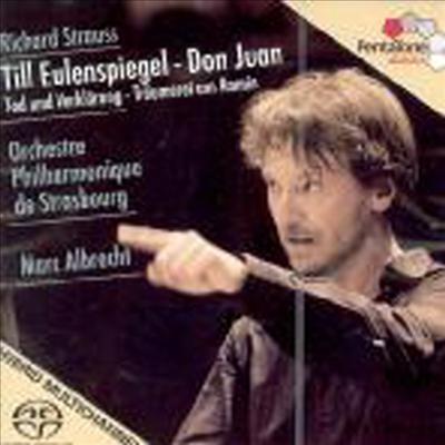 슈트라우스 : 교향시 작품집 (Strauss : Orchestral Works) (SACD Hybrid) - Marc Albrecht