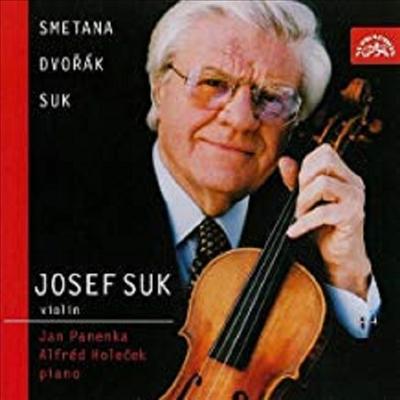 스메타나: '조국으로부터', 수크: 발라드, 네 개의 소품, 드보르작: 낭만적 소품, 바이올린 소나티나, 슬라브 무곡 2번 (Smetana: From the Homeland, Suk: Ballade, Four Pieces Op.17, Dvorak: Sonatina Op.100, R