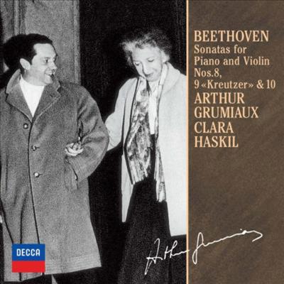 베토벤: 바이올린 소나타 8-10번 (Beethoven: Violin Sonatas Nos.8-10) (Ltd. Ed)(일본반) - Arthur Grumiaux