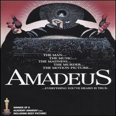 Amadeus (아마데우스) (지역코드1)(한글무자막)(DVD)(1997)