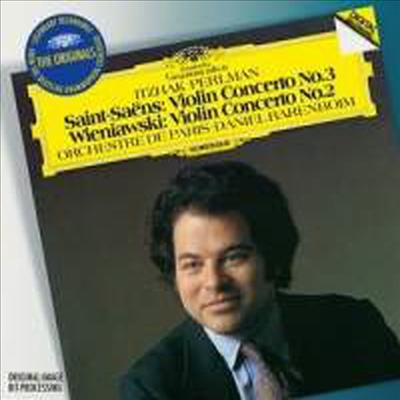 생상: 바이올린 협주곡 3번 & 비에니아프스키: 바이올린 협주곡 2번 (Saint-Saens: Violin Concerto No.3 & Wieniawski: Violin Concerto No.2)(CD) - Itzhak Perlman