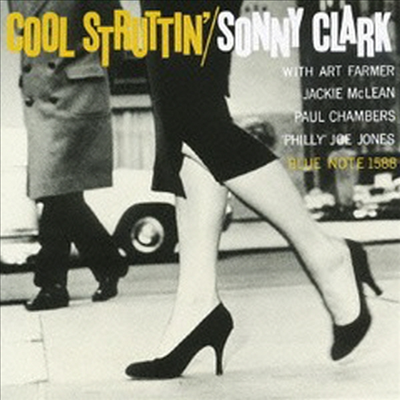 Sonny Clark - Cool Struttin' (Ltd. Ed)(Remastered)(Bonus Tracks)(SHM-CD)(일본반)