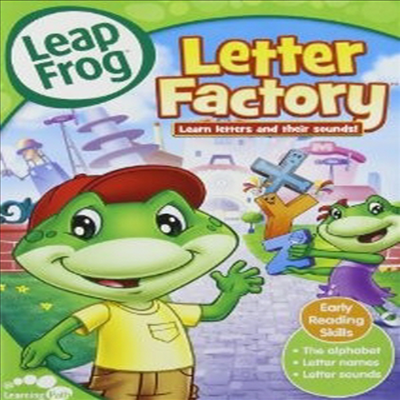 Leap Frog: Letter Factory (립프로그 : 레터 팩토리)(지역코드1)(한글무자막)(DVD)