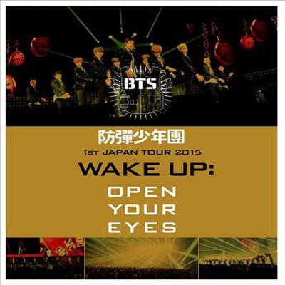 방탄소년단 (BTS) - 防彈少年團 1st Japan Tour 2015 'Wake Up : Open Your Eyes' (Blu-ray)(Blu-ray)(2015)