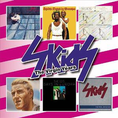 Skids - Virgin Years (Box Set)(6CD)