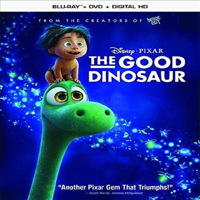 The Good Dinosaur (굿 다이노) (한글무자막)(Blu-ray)
