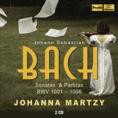ë°í: 무ë°ì£¼ ë°ì´ì¬ë¦° ìëíì í르í°í (Bach: Sonatas & Partitas for Violin BWV1001-1006) (2CD) - Johanna Martzy