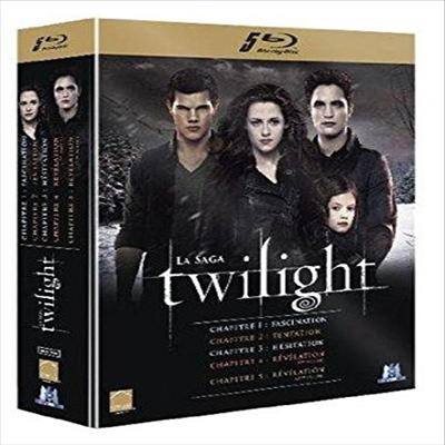 Twilight - Chapitre 1: Fascination / Chapitre 2: Tentation / Chapitre 3: Hesitation / Chapitre 4: Revelation 1ere Partie / Chapitre 5: Revelation 2eme Partie (트와일라잇 시리즈)(한글무자막)(프렌치버전